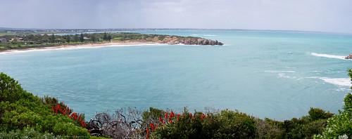 Basham Beach panorama by gomagoti