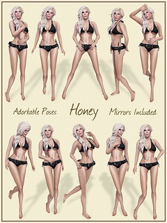 Adorkable Poses:  Honey