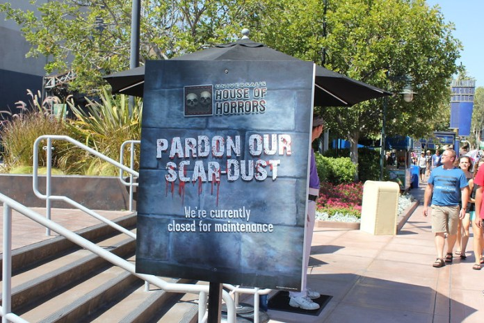 Park Update: August 20, 2012 & August 21, 2012 - Universal Studios Hollywood