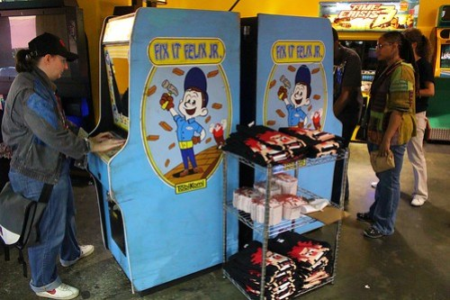 Fix-It Felix arcade game for Disney's Wreck-It Ralph