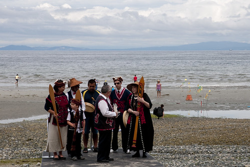 Qualicum First Nation at Qualicum Beach Day