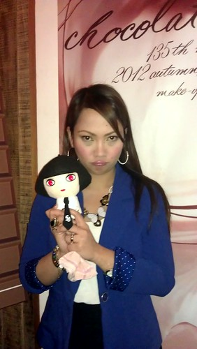 Jheng with Shu Momo Doll
