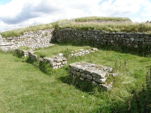 Some interior walls