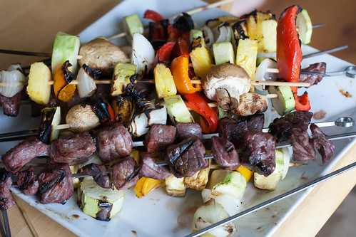 Lime Marinated Kabobs
