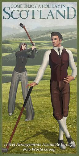 oOo Studio: Golf
