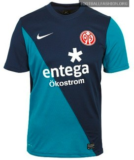 Mainz 05 Nike 2012/13 Away Soccer Jersey / Football Kit / Trikot
