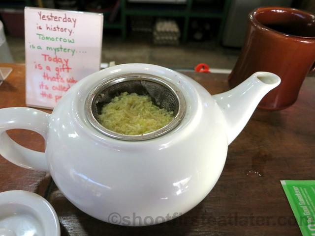 ginger tea P100