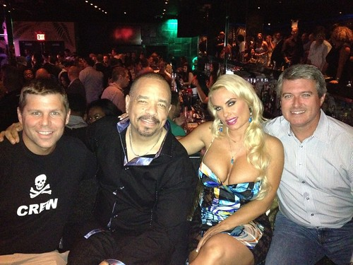 Shawn Collins, Ice T, Coco, and Brian McGovern