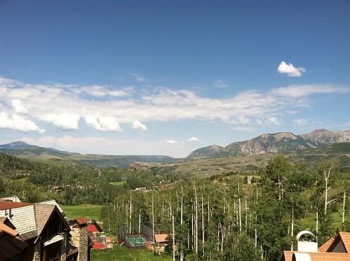 Mtn Village hotel view