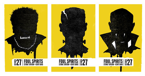 Foul Spirits Posters