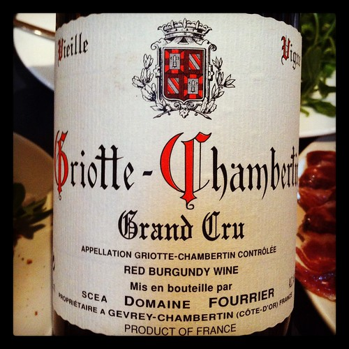 Domaine Fourrier Griotte-Chambertin 1999 and 2000