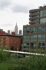 Empire State Bldg from the Highline