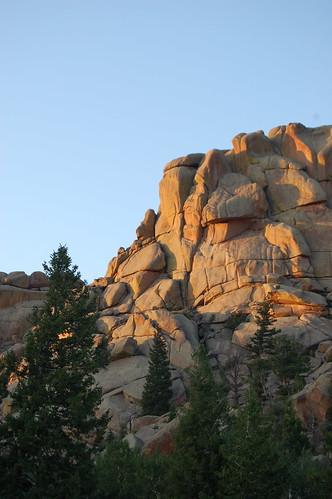 Evening Light on the Rocks