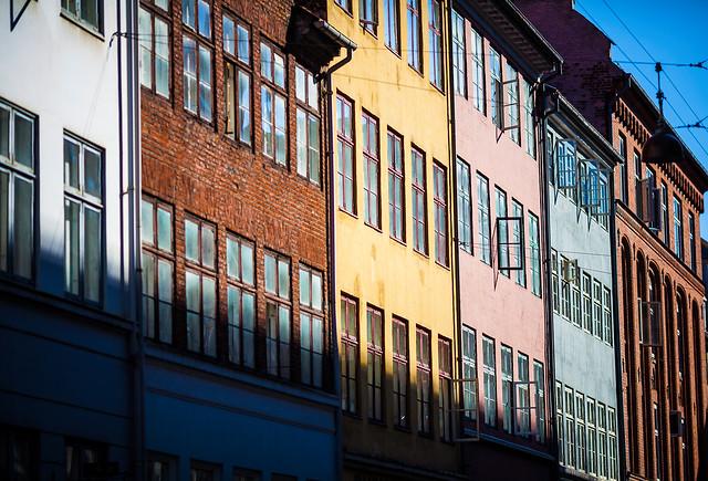 Facades of Copenhagen