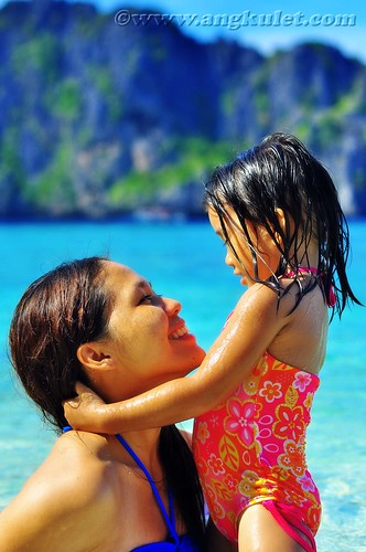 Mother and Daughter, Simizu Island, El Nido, Palawan