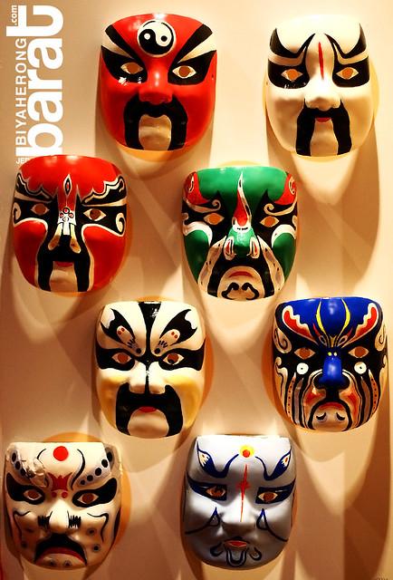 mask in asian civilisations museum