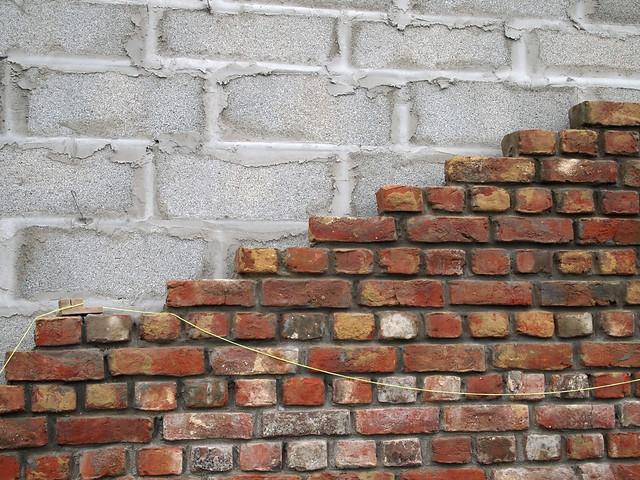 Parement en briques