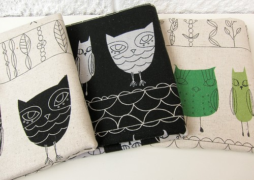 Owls from Fabric Inspirations