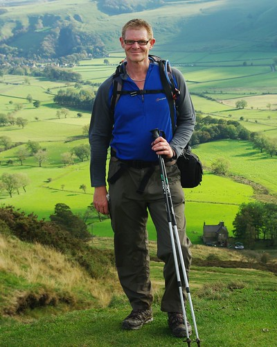 20111016-26_Me at Hollins Cross (Hope Valley Behind) by gary.hadden