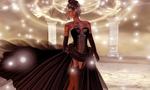 Black Dress by sandi Mexicola