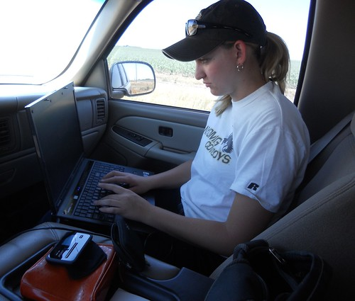 Writing in the pickup