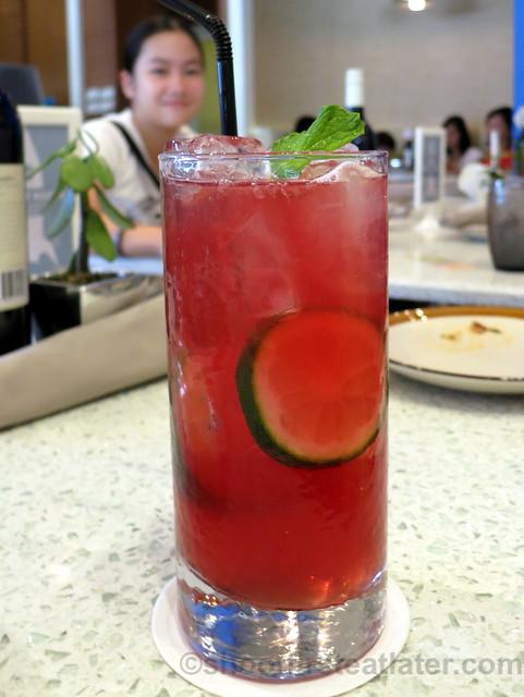 raspberry echinacea iced tea P95