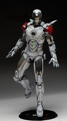 HT 1-6 Iron Man Mark IV (Hot Toys) Custom Paint Job by Zed22 (13)