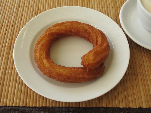Süßer Kringel vom türkischen Supermarkt