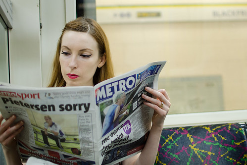 Girl On The Underground