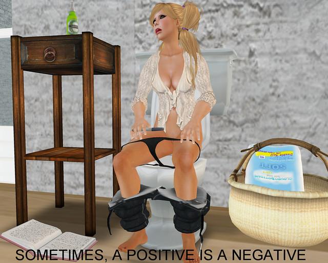 Sometimes, A Positive is a Negative