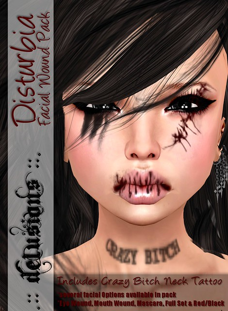 .:: Delusions ::. Disturbia Facial Wound Pack