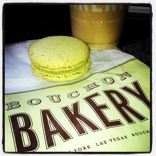 #BuchonBakery in #nyc with a coconut lime #macaroon