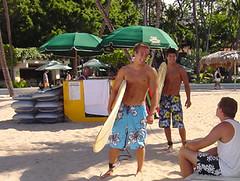 Hawaii w my nephews, 2004
