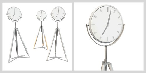 in time. (clock set)