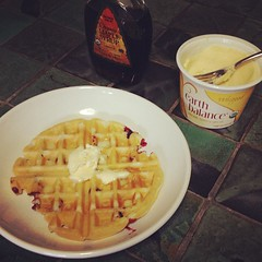 Waffle Sunday Instated at our new place