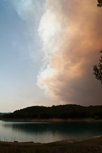 Incendio en las proximidades de Onda