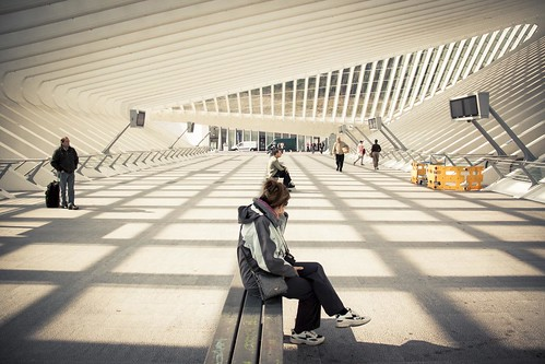 The Station of Light (Liège-Guillemins) - Photo : Gilderic