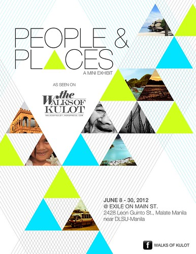 People and Places poster.