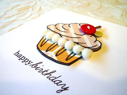 Birthday Cupcake - Close Up