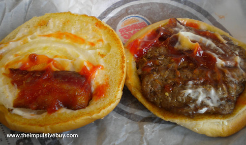 Burger King BK Bacon Burger Beef Patty