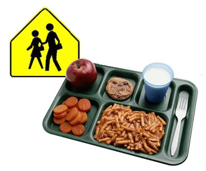 Hey Kids, Crappy School Lunches Are Back!