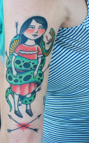 Postcards from Portland - Today's Best Tattoo 1 by dyannaanfang