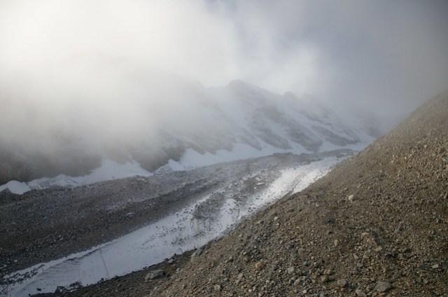 some glacier tributary