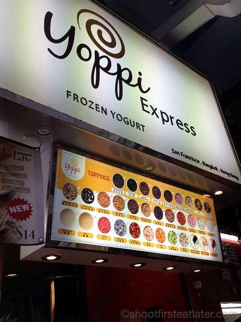 Dundas St. - good eats- Yoppi Express