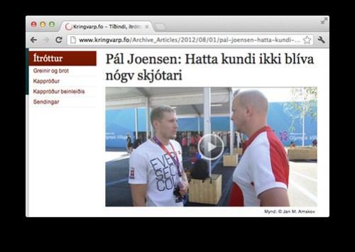 Pál og Jón á KVF.fo