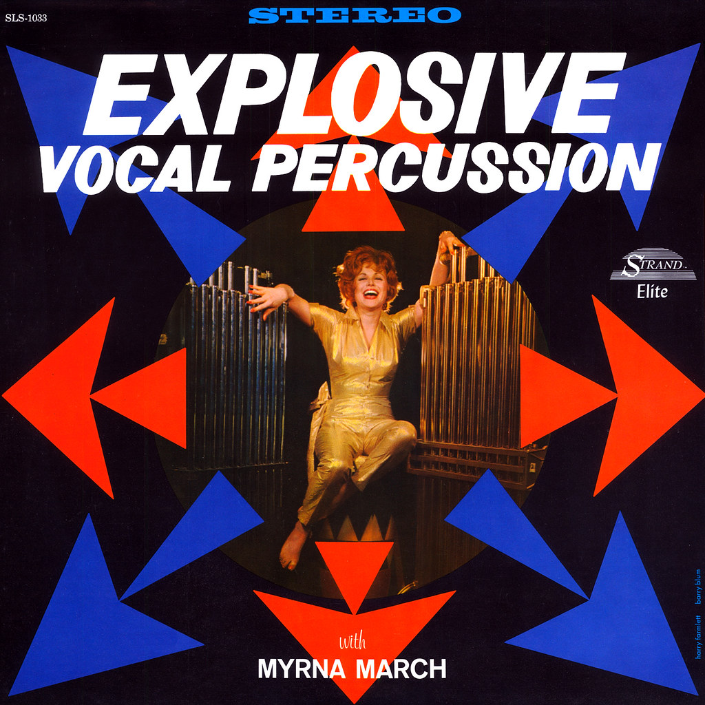 Myrna March - Explosive Vocal Percussion