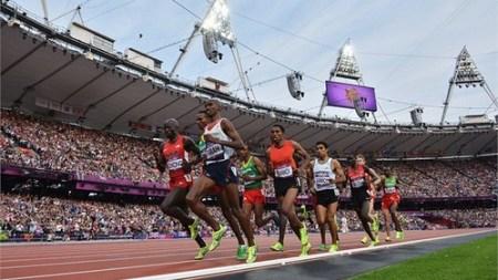 Mo Farah 5000m Atletismo Londres