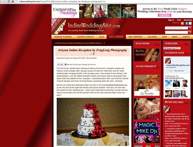 Blog Photo | Ashley & Gaurav's Sedona Destination Indian Wedding Featured on IndianWeddingSite.com