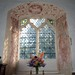 Wallpainting S nave E window