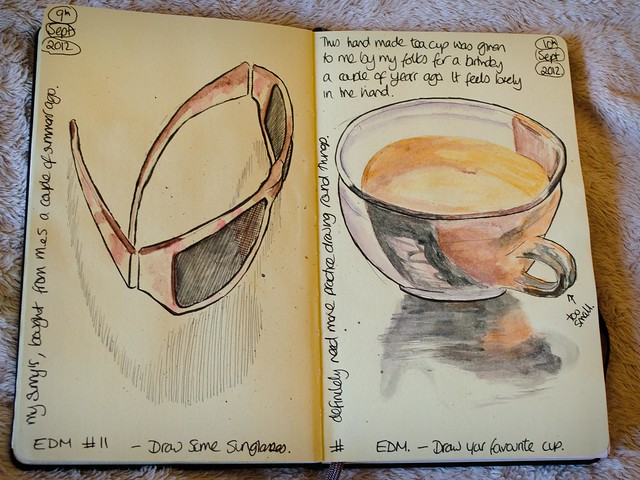 Sunglasses and Teacup